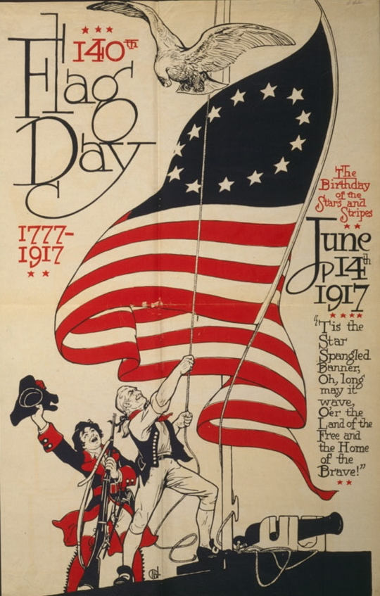 US_Flag_Day_poster_1917